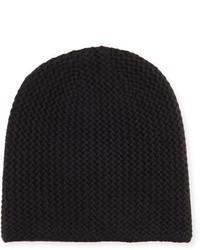 Goodmans Goodmans Knit Cashmere Beanie Black