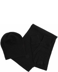 Allude Hat Scarf And Gloves Cashmere Set