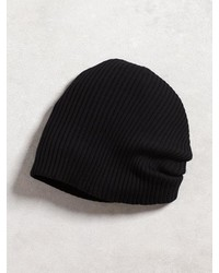 John Varvatos Double Layer Rib Knit Beanie