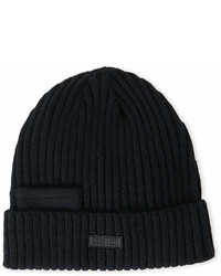 Kenneth Cole Reaction Knit Beanie With Pocket