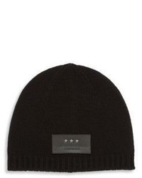 John Varvatos Knit Wool Cashmere Blend Beanie