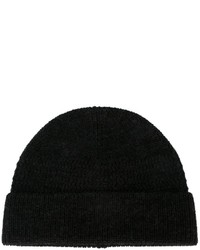 Lanvin Ribbed Knit Beanie