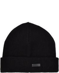 Z Zegna Logo Beanie Hat