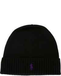 d91975a83d16 Men s Black Beanies by Polo Ralph Lauren   Men s Fashion