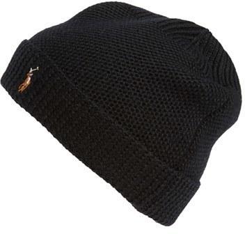 d6e861792fcdf ... Polo Ralph Lauren Merino Wool Beanie Black ...