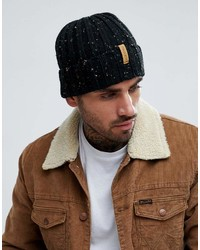 Pull&Bear Nep Beanie In Black