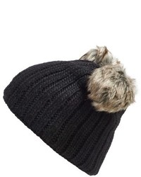 Nirvanna Designs Double Pom Knit Beanie