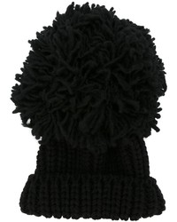 Federica Moretti Pompom Knit Beanie