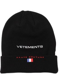 Vetements Reebok Wool Knit Beanie Hat