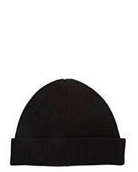 Helmut Lang Rib Knit Beanie Black