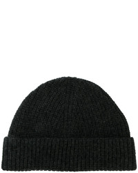 Lanvin Ribbed Beanie Hat