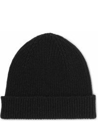 Paul Smith Ribbed Cashmere And Wool Blend Beanie
