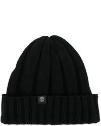 Ribbed knit beanie hat medium 6793349