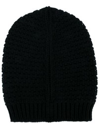 Rick Owens Knitted Wool Beanie Hat
