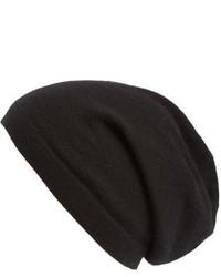 Shop cashmere beanie grey medium 6793267