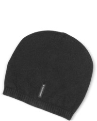 Armani Jeans Solid Pure Cashmere Beanie