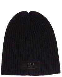 John Varvatos Star Usa Thermal Slouch Wool Beanie