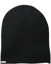 Steve Madden Knit Solid Slouchy Beanie Hat