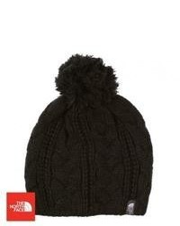 The North Face Bigsby Pom Pom Beanie Tnf Black