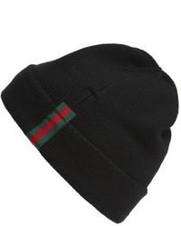 Wool beanie red medium 950991