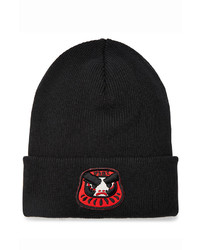 DSQUARED2 Wool Hat With Patch