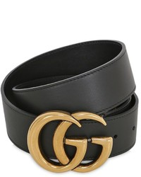 Gucci 40mm Gg Marmont Lather Belt