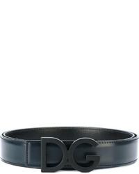 Dolce & Gabbana Belt With Logo Buckle