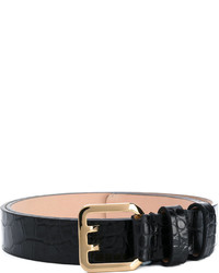 Dsquared2 Crocodile Embossed Belt