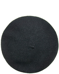 Nine West Black Wool Beret