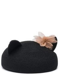 Eugenia Kim Cat Beret Black