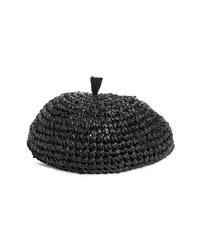 Gigi Burris Millinery Coco Straw Crochet Beret