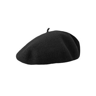 ced5b8cb9dc ... Jaxon Hats Basque Beret Black