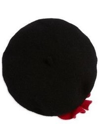 Kate Spade New York Poppy Accented Beret