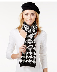 Charter Club Partridge Houndstooth 2 Pc Scarf Hat Gift Set Only At Macys