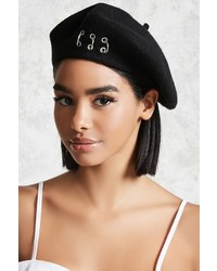 486a4e8f6fdc2 Women s Black Berets by Forever 21