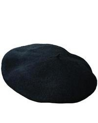 Scala Wool Beret By Dorfman Pacific Black One Size