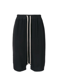 Rick Owens Dropped Crotch Shorts