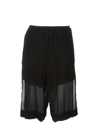 Lost & Found Ria Dunn Layered Knee Shorts