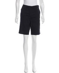 Tibi Mid Rise Bermuda Shorts