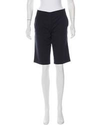 Prada Sport Mid Rise Bermuda Shorts