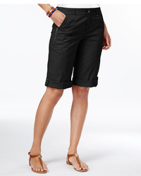 Style&co. Style Co Cuffed Bermuda Shorts Created For Macys