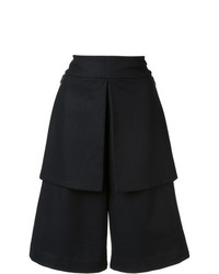 Y-3 Wide Legged Knee Length Shorts