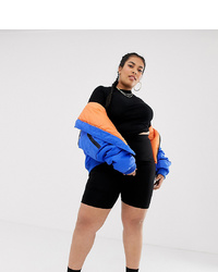 Collusion Plus High Waist Legging Shorts