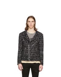 Faith Connexion Black Tweed Jacket