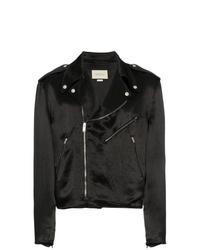 Gucci Guccy Japanese Acetate Biker Jacket