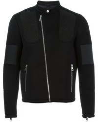 Neil Barrett Panelled Biker Jacket