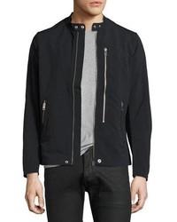 Diesel Nylon Biker Jacket Black