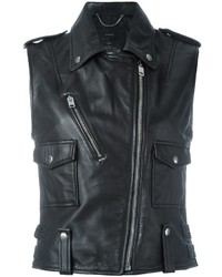 Diesel Sleeveless Biker Jacket