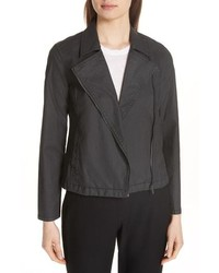 Eileen Fisher Stretch Organic Cotton Short Jacket
