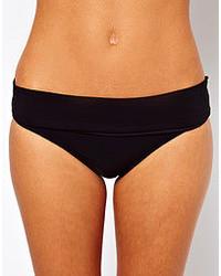 Calvin Klein Fold Over Bikini Pant Black